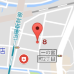 グーグルマップを訂正しました。